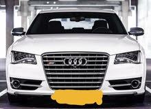 اودي اس 8  2014 (ماشيه بس 35000 كم ) Audi S8 2014