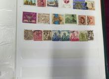 طوابع تذكارية قديمة