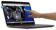 لابتوب dell شاشة لمس و 4k ومواصفات عالية للبيع