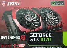 MSI Geforce GTX 1070 for sale