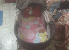 سرير اطفال حاله جيده جدا  فرصه لن تتكرر و السعر 250 جنيه