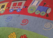سجادة كبيرة - حالة ممتازة -لغرفة أطفال-Large carpet- in excellent condition -for kids