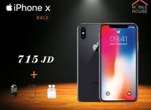 ايفون x جديد مسكر - كفالة apple + كفالة Mobile house
