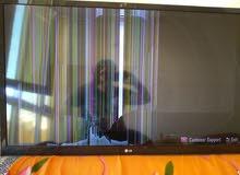 شاشة L G 42 الشاشة بها كسر