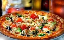 اصطي بيتزا و مقلوبه دو خبره