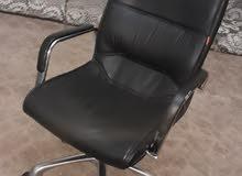كرسي جلد اصلي