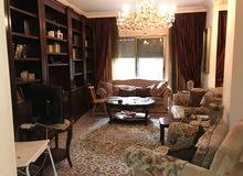 شقة شبه ارضي 221م في الرابية