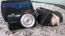 كاميرا سوني 16 PixXl ببطارية رائعة و شاحن + بوشات