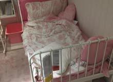 bed and matrice from Ikea. سرير مع مرتبة من ايكيا