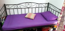 good condition single bed with mattress for sale
