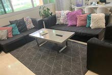 sofa set only for sale with out cushions, carpet and table