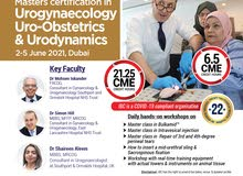 Masters in Urogynaecology, Uro-obstetrics & Urodynamics