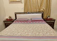 سرير مع كامودينات  لنوعية ممتازة