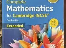 IGCSE books, Maths, Physics, ICT, English, Biology