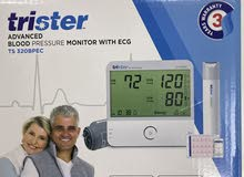 blood pressure monitor with ECG - جهاز قياس الضغط