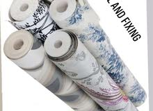 Wallpaper Selling and Fixing Available