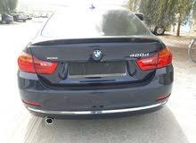 luxury BMW 420D XDRIVE GRANDCOUPE Disel engine model 2015