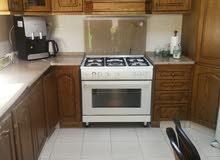 مطبخ مستعمل لاتيه قشرة بلوط