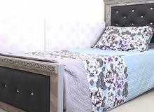 غرفه نوم 2 سرير عموله جديد للبيع