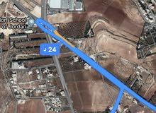 للبيع ارض 845 م في ناعور المنيف طريق مادبا غ