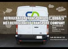 Refrigerator vans and trucks on rent