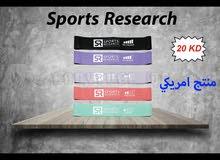 """سيور المقاومة منتج امريكي """" Sports Research """""""