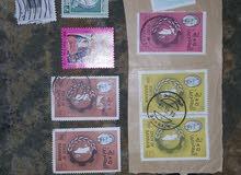 مجموعة طوابع قديمه للبيع