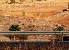 أرض مفروزه بقوشان مستقل في ضاحية الروابي( رحاب) بلعما للبيع أو للبدل على سيارة