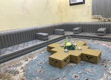 جلسة عربية قماش القثمي