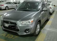 Mitsubishi ASX in good condition and low mileage.