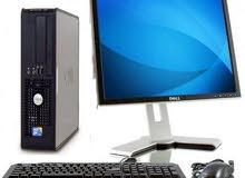 فرصة لا تتكرر للبيع DELL desktop core 2 duo