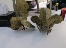 2 طيور نحاس تحف فنيه للراغبين من الاخر