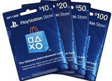 Gift Card for PlayStation (10€ & 10$)