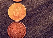 عملة معدنية عمانية قديمة