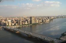 شقه للإيجارعلي النيل مباشرة - Nile View furnished apartment for Rent