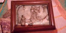 لوحة فنية ل anton pieck قديمة