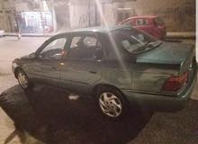 For sale 1996 Green Corolla