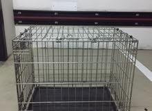 قفص للقطط او الكلاب متوسطة الحجم