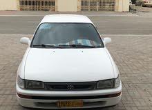 White Toyota Corolla 1995 for sale