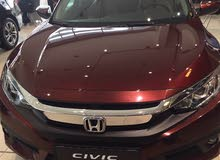 Honda Civic 2017 For sale - Maroon color