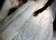 فستان عروسه جديد غير مستعمل