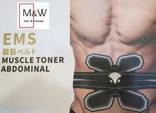 جهاز تحفيز وبناء عضلات البطن والخواصر بتقنية E.M.S