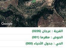قمة جبل من اراضي عجلون مهرما