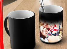 فنجان سحري - Magic Mug - Black\Red