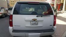 سيارة تاهو موديل 2010 لون ابيض بحالة جيدة جدا