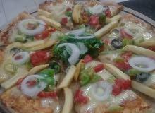 شيف بيتزا ومعجنات بالكامل وخبزه طابونه درجه اولى