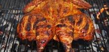 مطلوب موظف لشوي الدجاج على الفحم