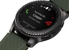 ساعة سمارت سامسونك اخر اصدار  فرونتير GEAR S3
