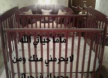 سرير اطفال مستعمل نضيف مافي اي عيب