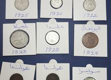 عملات معدنية تواريخ قديمة